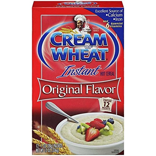 B and G Cream of Wheat Original Instant Cereal, 1 Ounce - 144 pe...