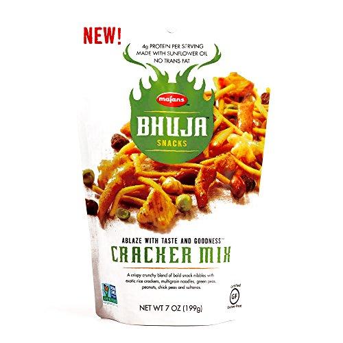 Bhuja Snacks Cracker Mix 7 oz each 3 Items Per Order