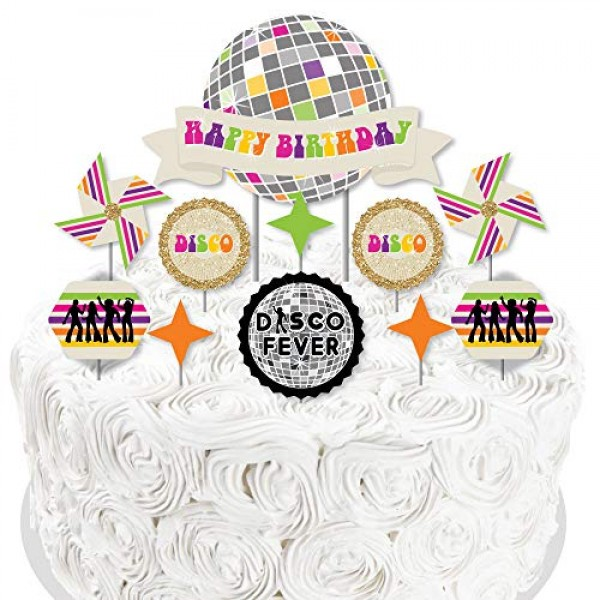 Big Dot of Happiness 70's Disco - 1970s Disco Fever Birthday Par...