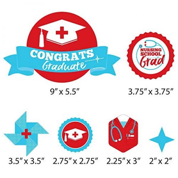 Big Dot of Happiness Nurse Graduation - Medical Nursing Graduati...