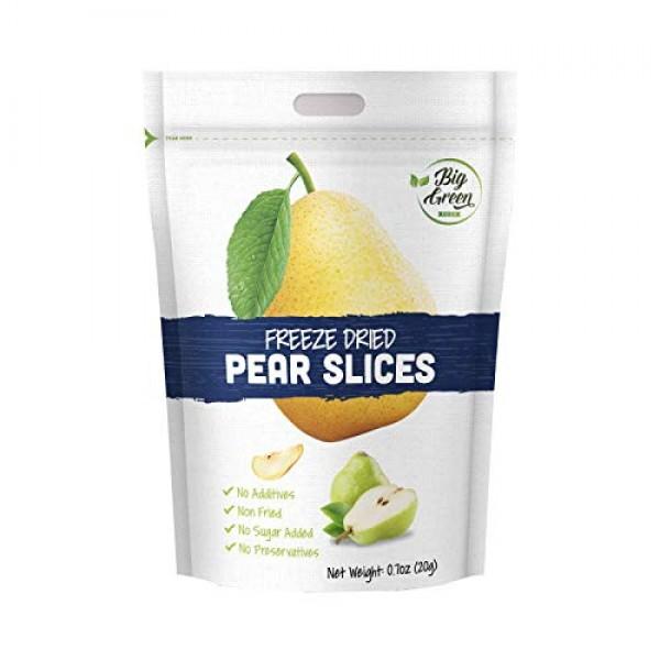 Big Green Organic Food- Freeze-Dried Pear, Healthy Snack, Natura...