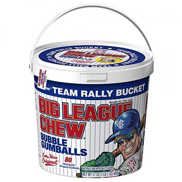 Big League Chew - Original Bubble Gum Flavor + 80pcs Individuall...