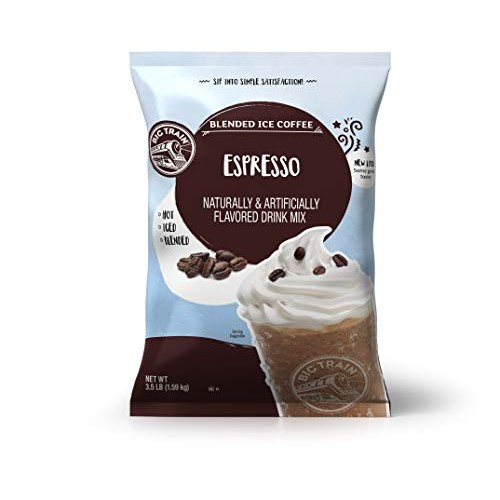 Big Train Blended Ice Coffee, Espresso, 3.5 Pound, Powdered Inst...