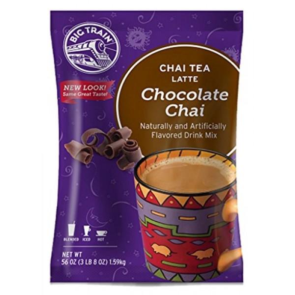 Big Train Chai Tea Latte, Chocolate, 56 Ounce, Powdered Instant ...