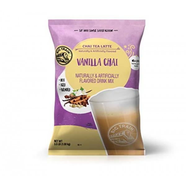Big Train Vanilla Chai Tea Latte, 56 Ounce Powdered Instant Chai...