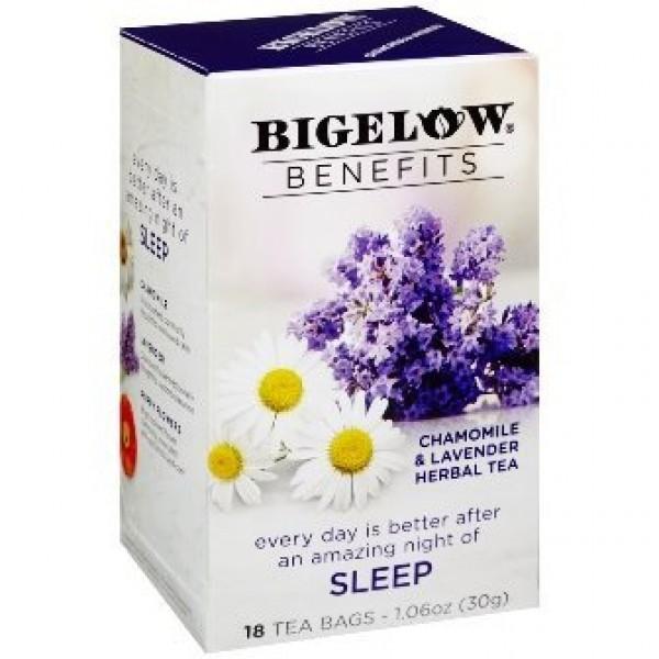 Bigelow Benefits - Chamomile & Lavender Herbal Tea, Pack of 3