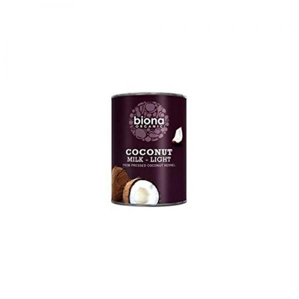 2 Pack - Biona - Coconut Milk Light 9% Fat | 400ml | 2 PACK BU...
