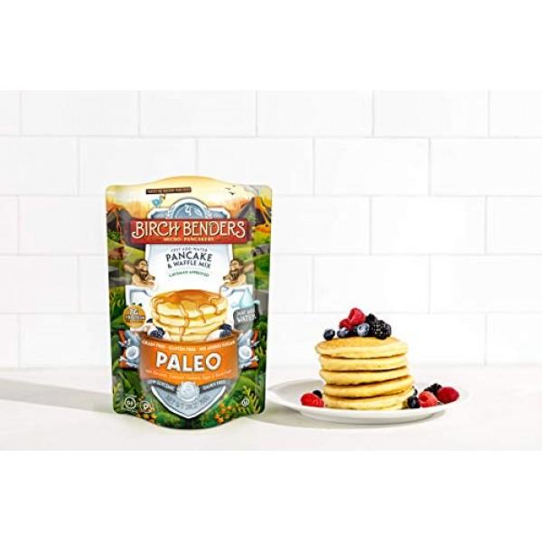 Birch Benders Paleo Pancake & Waffle Mix, Made With Cassava, Coc...