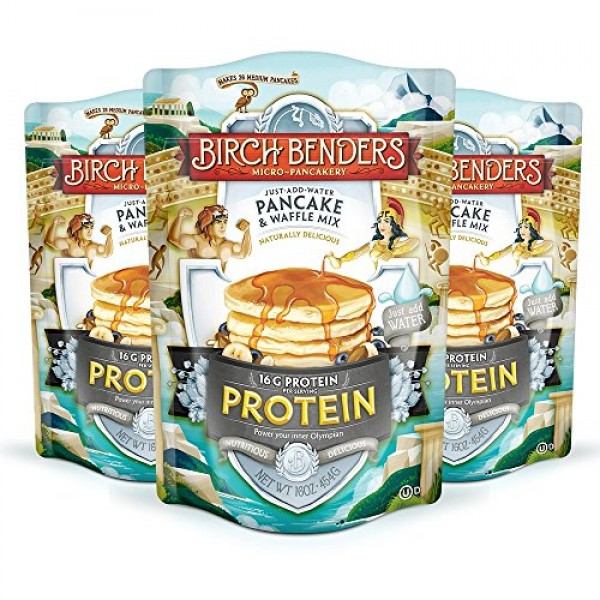 Performance Protein Pancake and Waffle Mix with Whey Protein by ...
