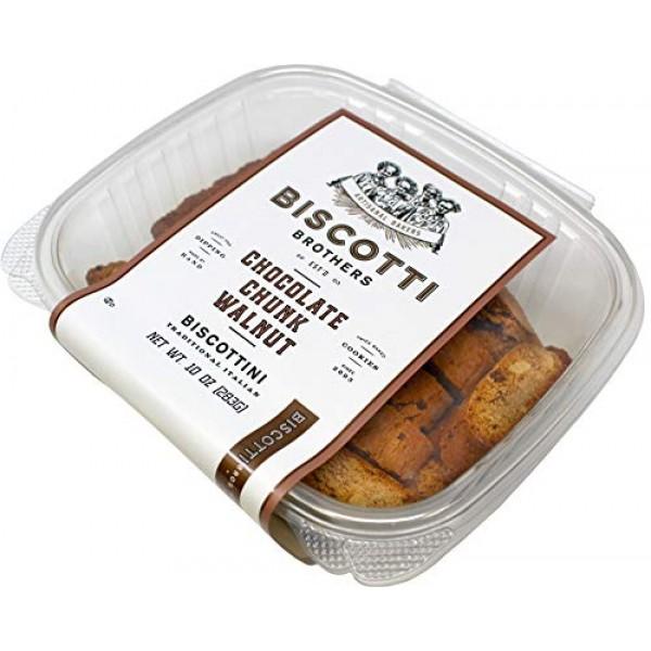 Biscotti Brothers Bakery Chocolate Chunk Walnut, 10 Ounce