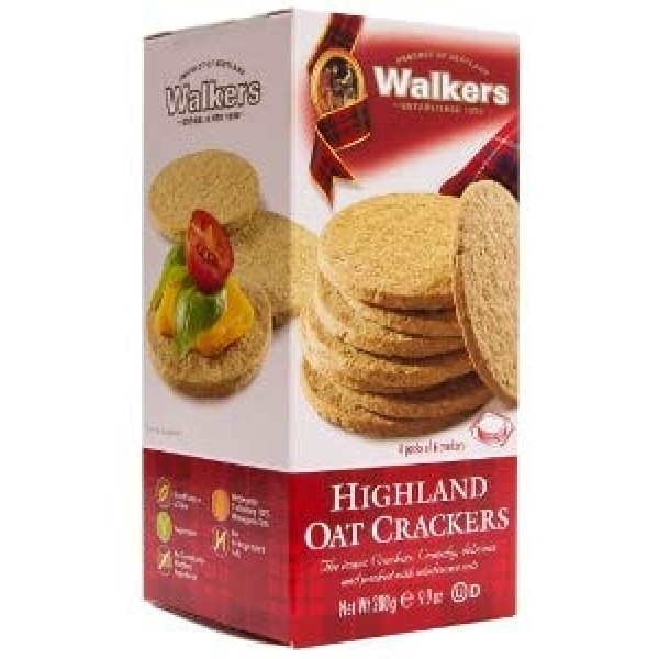 Walkers Highland Oatcrackers 9.9 ozPack of 3