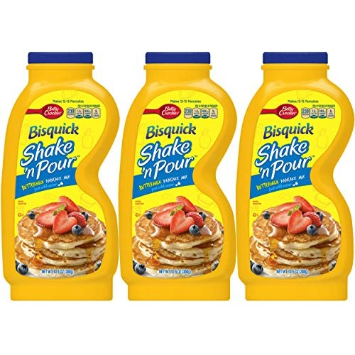 Bisquick Shake n Pour Buttermilk Pancake Mix (Pack of 3) 10.6 o...