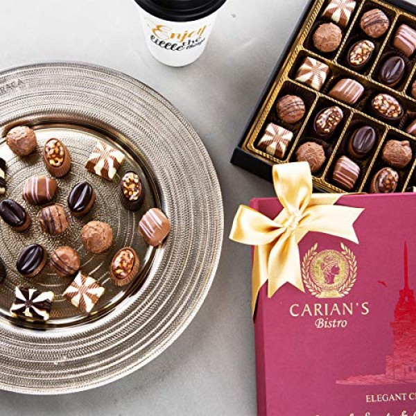 Bistro Chocolate Boxed Luxury Selection, Premium Assorted Gift B...