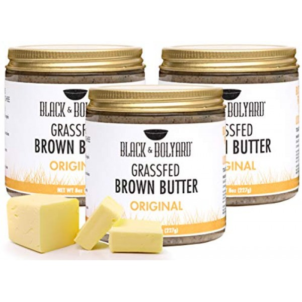 Black & Bolyard Original Brown Butter - Non-GMO, Sugar-free, Gra...