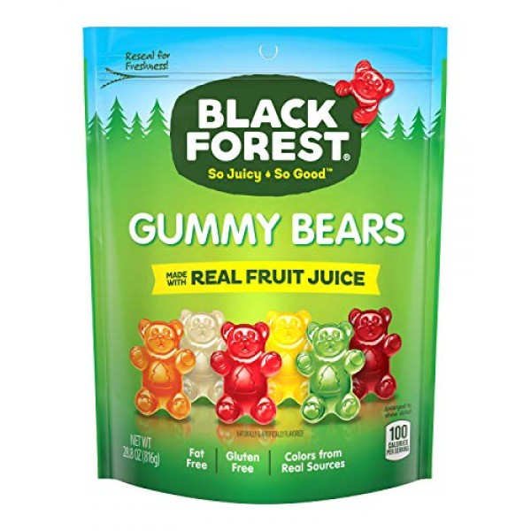 Black Forest Gummy Bears Candy, 28.8 Ounce Pack of 1