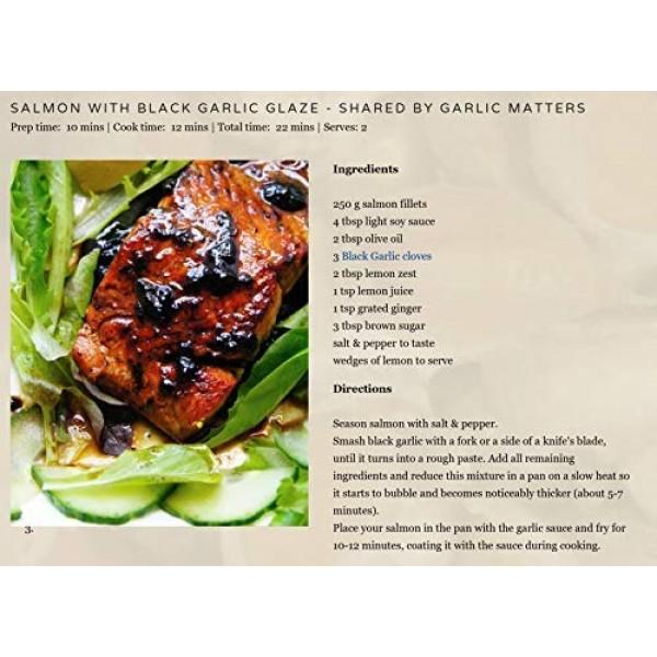 Peeled Black GarlicOrganic American Aged and Fermented 120 Days