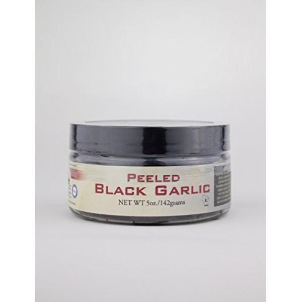 Peeled Black Garlic 5 oz.- Kosher Certifed