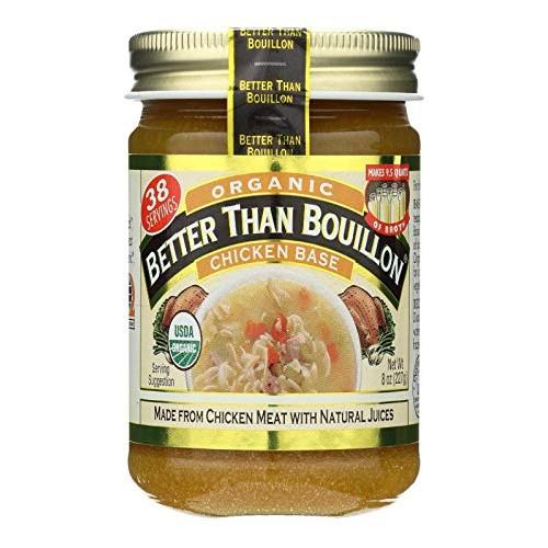 Better Than Bouillon Chicken Base, 8 oz Jar in a Gift Box