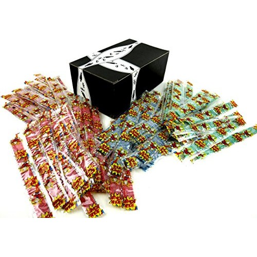 Dorval Sour Power Belts 4-Flavor Variety: Ten 0.35 oz Packages E...