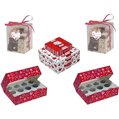 Valentines Day Baked Good Gift Box Bundle