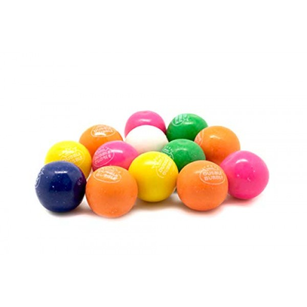 Gumballs 1 inch-Dubble Bubble Bubble Gumballs, 5LB bulk gumballs