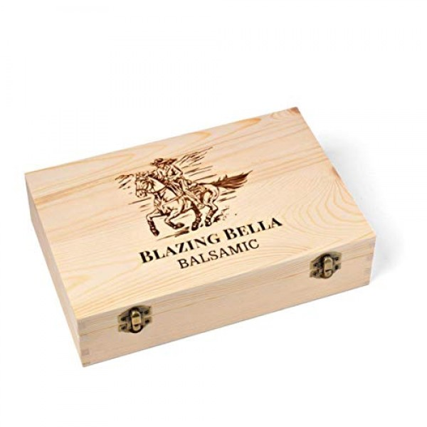 Blazing Bella Balsamic and Olive Oil Gift Set - Foodie Combo