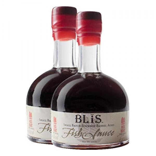 BLiS Bourbon Barrel Aged Fish Sauce - 2 Pack - 200ml