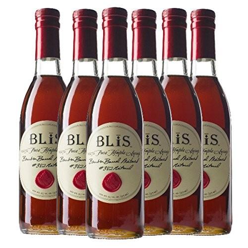 BLiS Bourbon Barrel Maple Syrup - 6 Pack- 375ml 6
