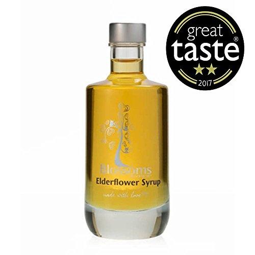 Blossoms Syrup Elderflower Premium 100% Natural Gourmet Cocktail...