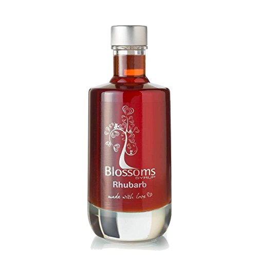 Blossoms Syrup Rhubarb Gourmet Cocktail Cordial Dessert Syrup 10...