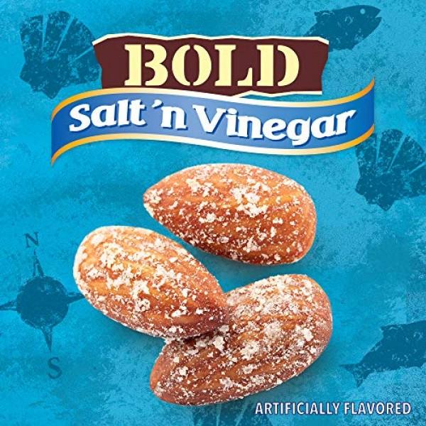 Blue Diamond Almonds, Bold Salt & Vinegar, 1.5 Ounce Pack of 24