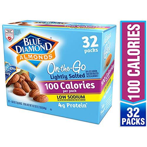 Blue Diamond Almonds Lightly Salted, Low Sodium, 100 Calorie Pac...
