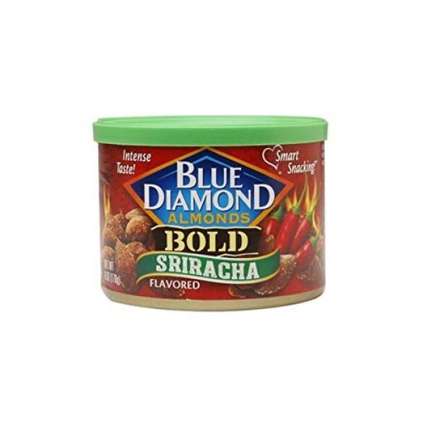Blue Diamond Bold Hot & Spicy Almonds Bundle: Chipotle, Sriracha...
