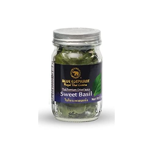 Sweet Basil Thai Herbs & Spices Royal Thai Cusine 6g
