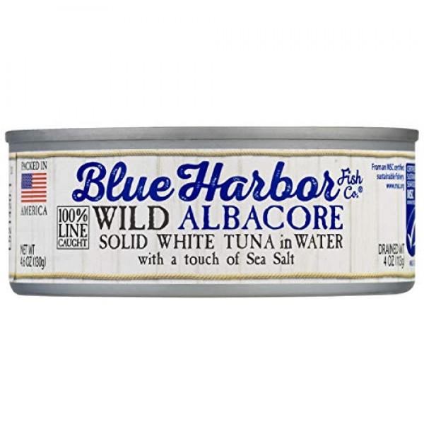 Blue Harbor Fish Co. Wild Albacore Solid White Tuna in Water wit...