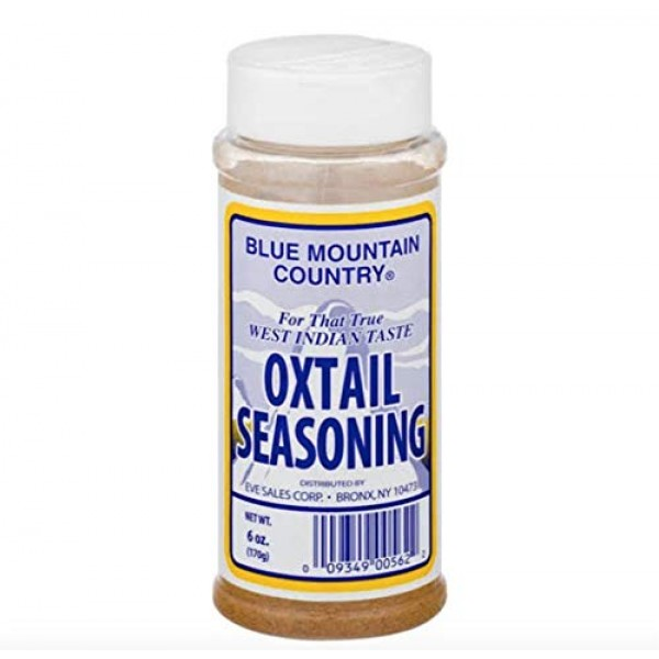 Blue Mountain Country Oxtail Seasoning 6 Oz. 170g