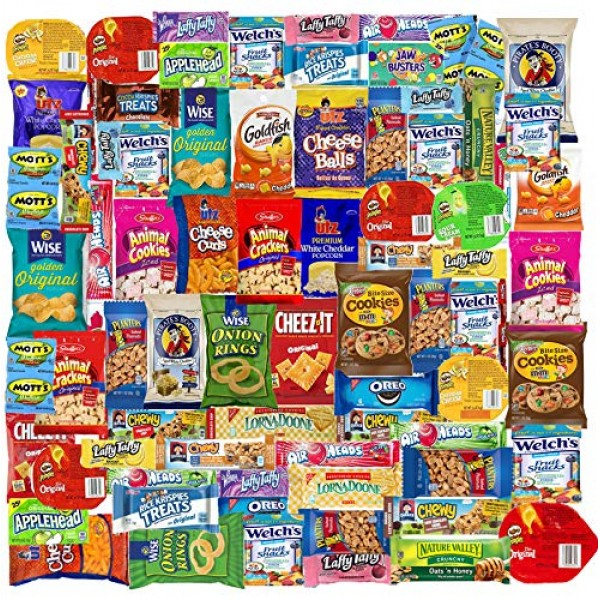 Blue Ribbon Care Package 90 Count Ultimate Sampler Mixed Bars, C...