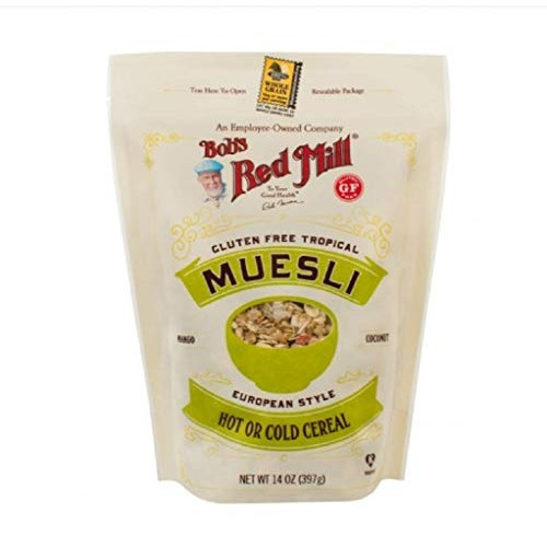 Bobs Red Mill European Style New Torpical Muesli 14oz, 1 Pack ...
