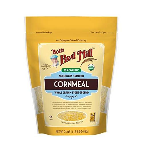 Bobs Red Mill, Organic Medium Grind Cornmeal, 24 oz