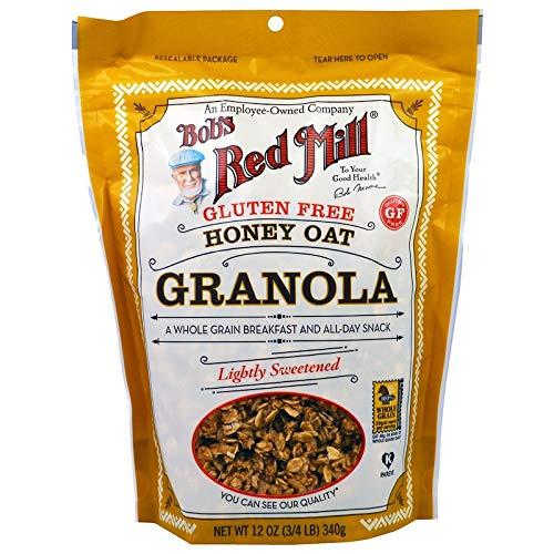 Honey Oat Gluten Free Granola 12 Ounces Case of 4