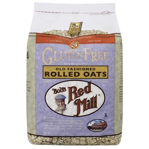 Bobs Red Mill Gluten Free Old Fashion Rolled Oats - 25 lb - Bul...