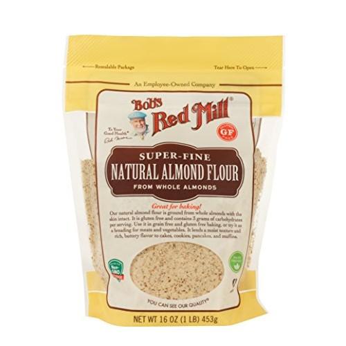 Bobs Red Mill Flour Almond Natural Super Fine, 16 OZ