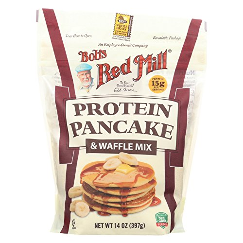 BOBS RED MILL, Mix, Pancake, Protein, Pack of 4, Size 14 OZ