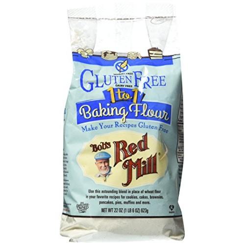 Bobs Red Mill Gluten Free 1 to 1 Baking Flour 22 oz 623 grams...