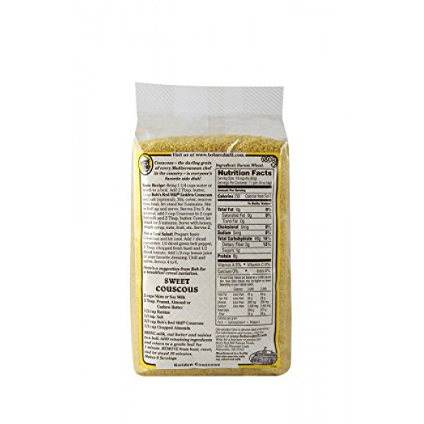 Bobs Red Mill Golden Couscous, 24-ounce Pack of 4