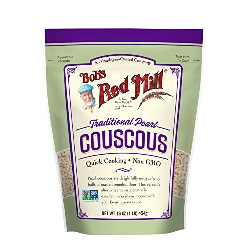Traditional Pearl Couscous, 16 Ounce Pack of 1