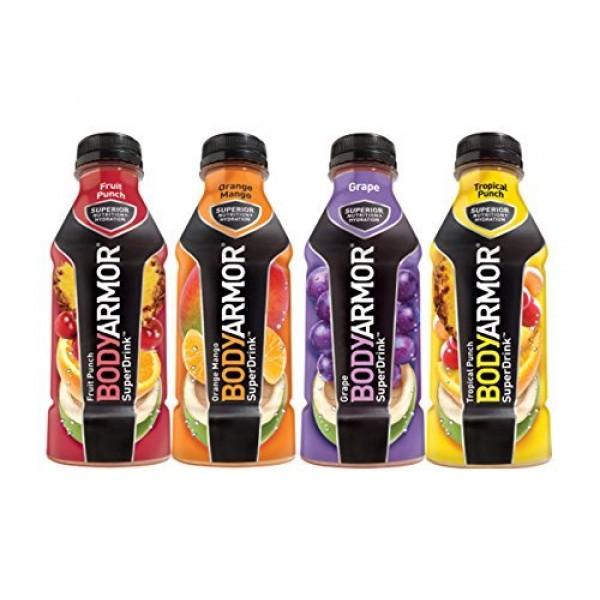 Body Armor Super Drink Variety 16 Oz 8 Pack