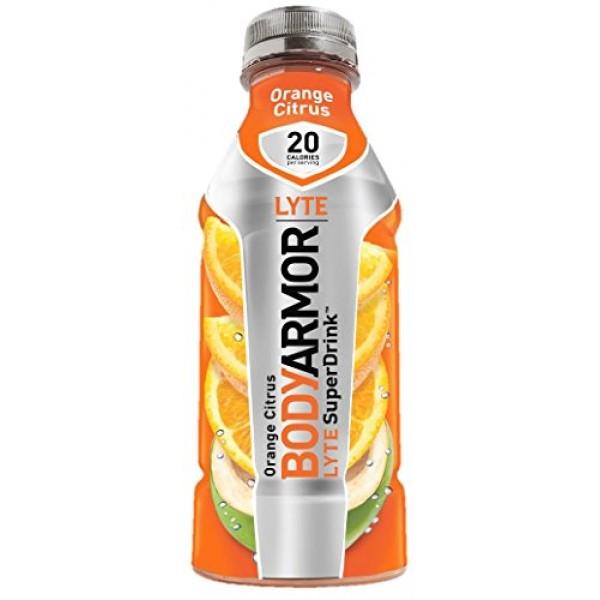 Bodyarmor LYTE Superdrinks Variety Pack, 4 Flavors, 36