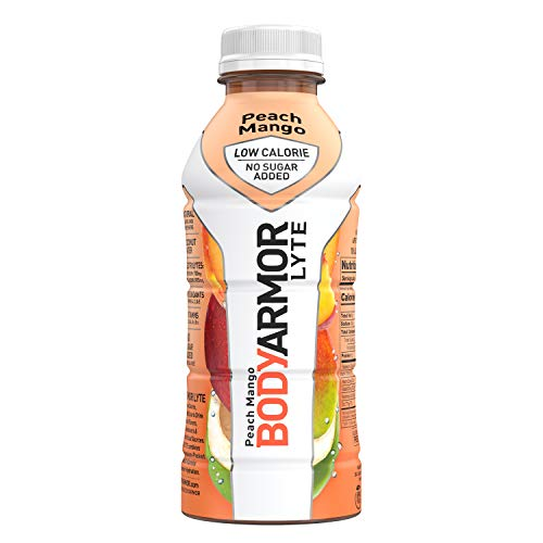 BODYARMOR LYTE Sports Drink Low-Calorie Sports Beverage, Peach M...
