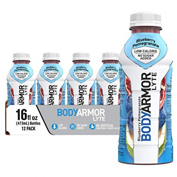 BODYARMORLYTE Sports Drink Low-Calorie Sports Beverage,Blueberry...